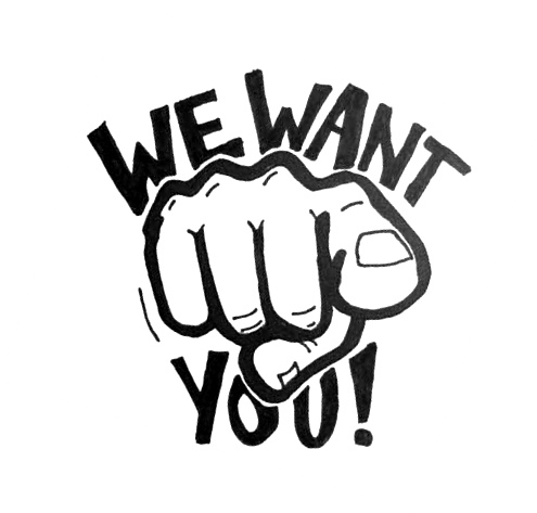 "We Want You – Campagna ""reclutamento"" Giudici di Gara"