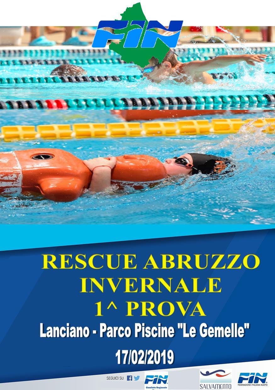 Rescue Abruzzo Invernale – 1^ Prova – Lanciano 17/02/2019