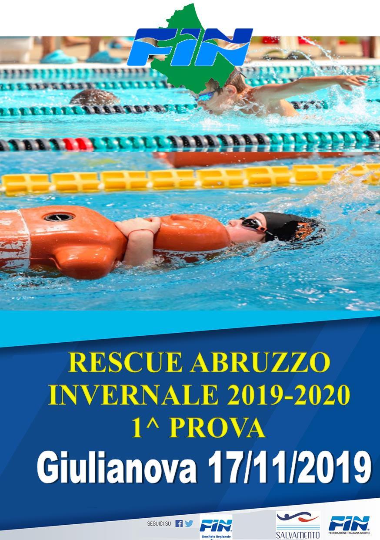 RESCUE ABRUZZO INVERNALE – 1^ Prova – Giulianova 17/11/2019